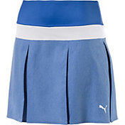 PUMA Women's PWRSHAPE Pleated Golf Skort
