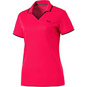 PUMA Women's Pique Golf Polo