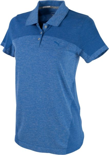 PUMA Women's Evoknit Golf Polo