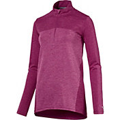 PUMA Women's Evoknit Seamless ¼-Zip Golf Pullover