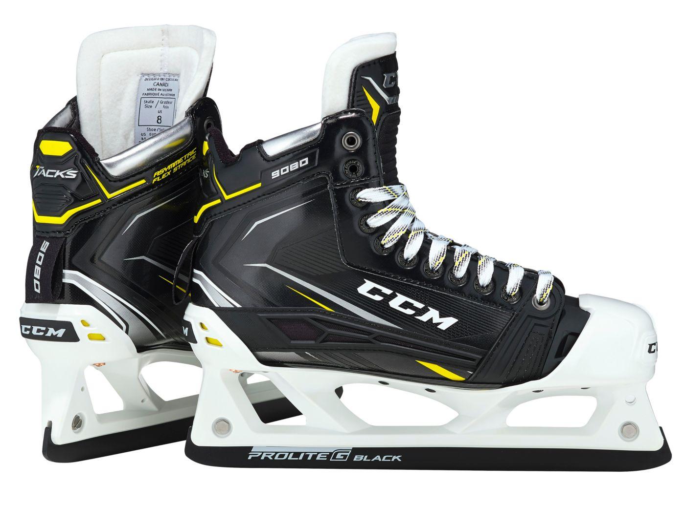 CCM Senior Tacks 9080 Goalie Ice Hockey Skates