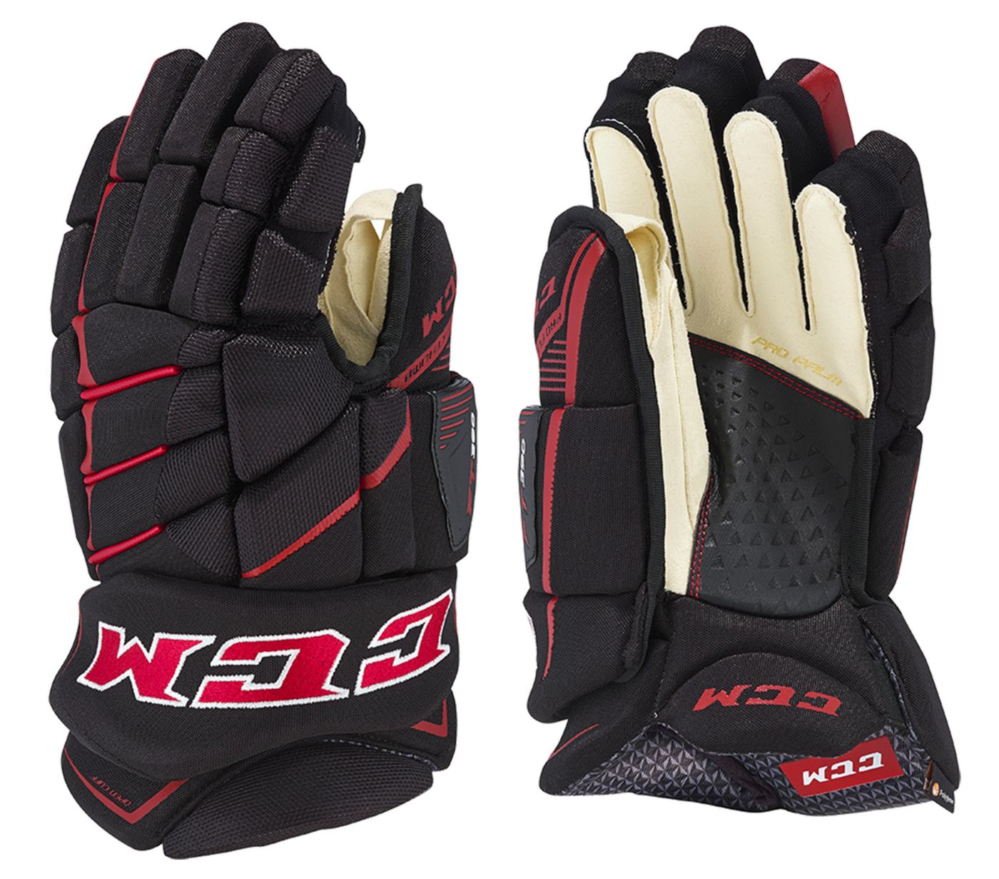 CCM Junior JetSpeed FT390 Ice Hockey Gloves