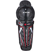 CCM Junior Jetspeed FT390 Ice Hockey Shin Guards