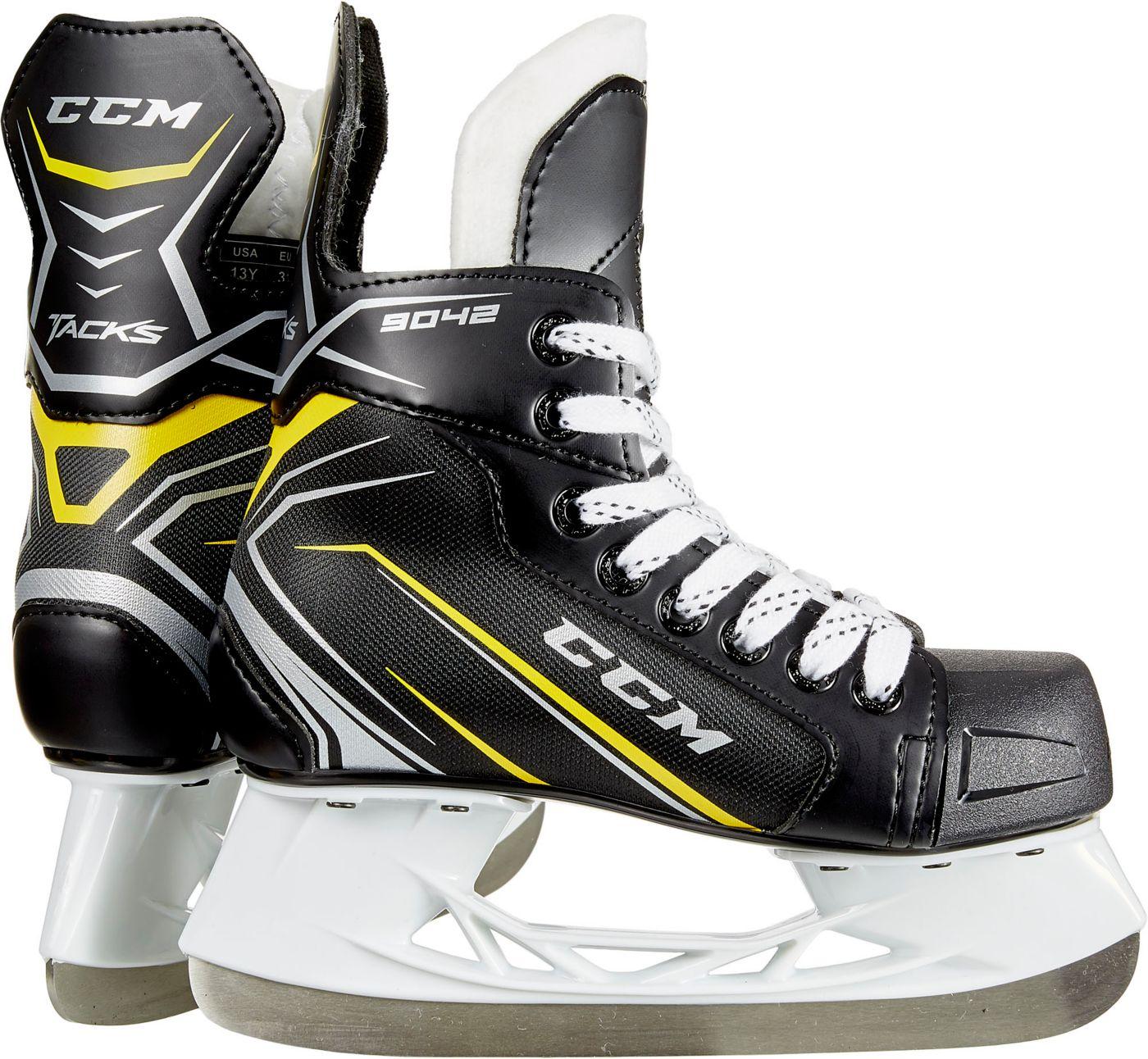 CCM Youth Tacks 9042 Ice Hockey Skates