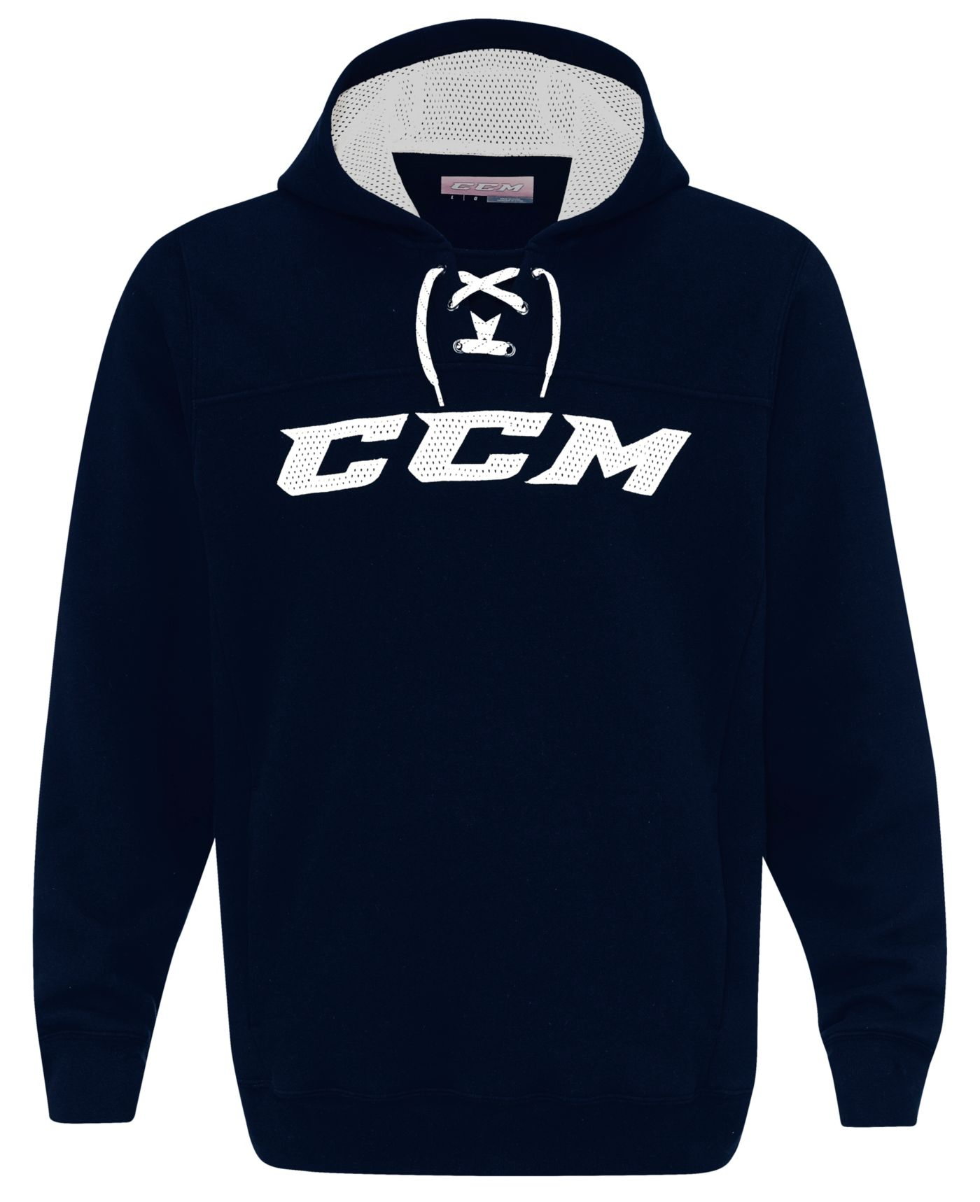 CCM Youth True to Hockey Lace Neck Hoodie