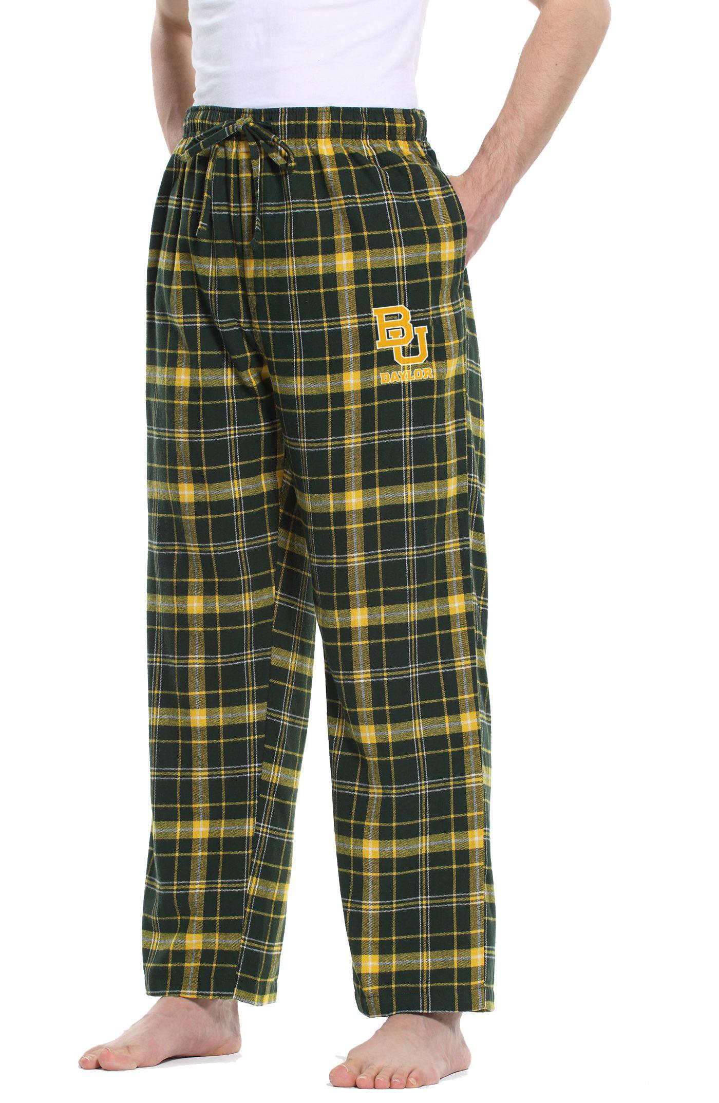 Concepts Sport Men's Baylor Bears Green/Gold Ultimate Sleep Pants