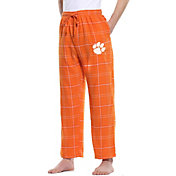 Concepts Sport Men's Clemson Tigers Orange/White Ultimate Sleep Pants