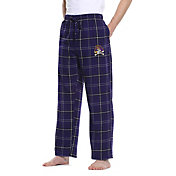 Concepts Sport Men's East Carolina Pirates Purple/Black Ultimate Sleep Pants