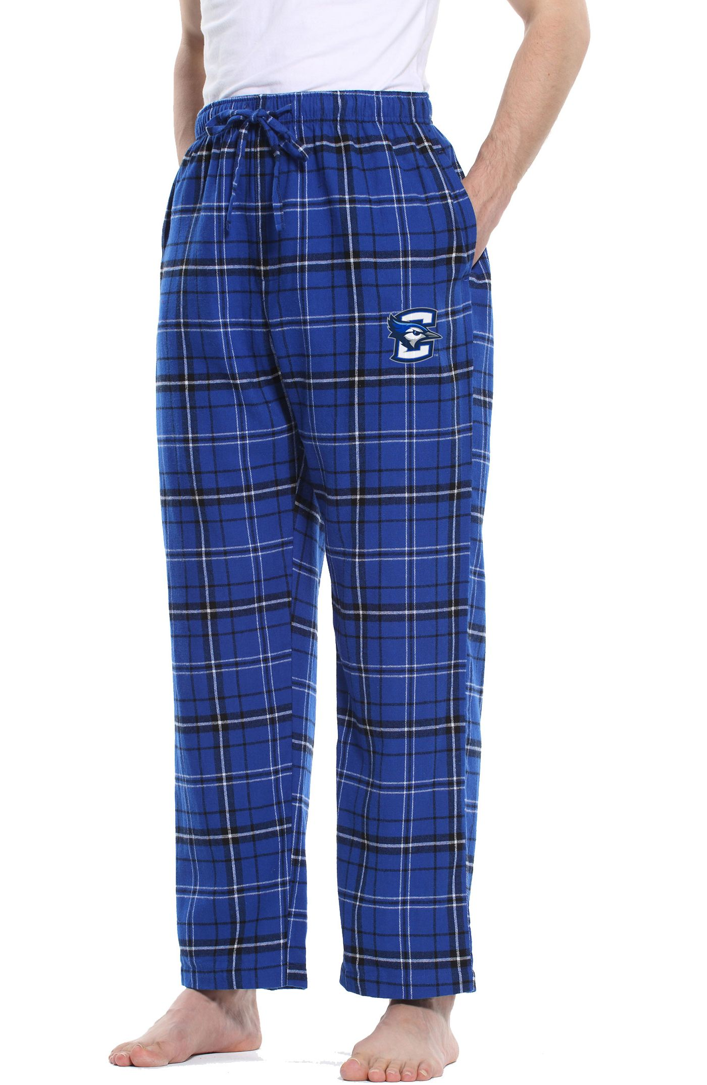 Concepts Sport Men's Creighton Bluejays Blue/Black Ultimate Sleep Pants