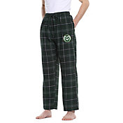 Concepts Sport Men's Colorado State Rams Green/Black Ultimate Sleep Pants