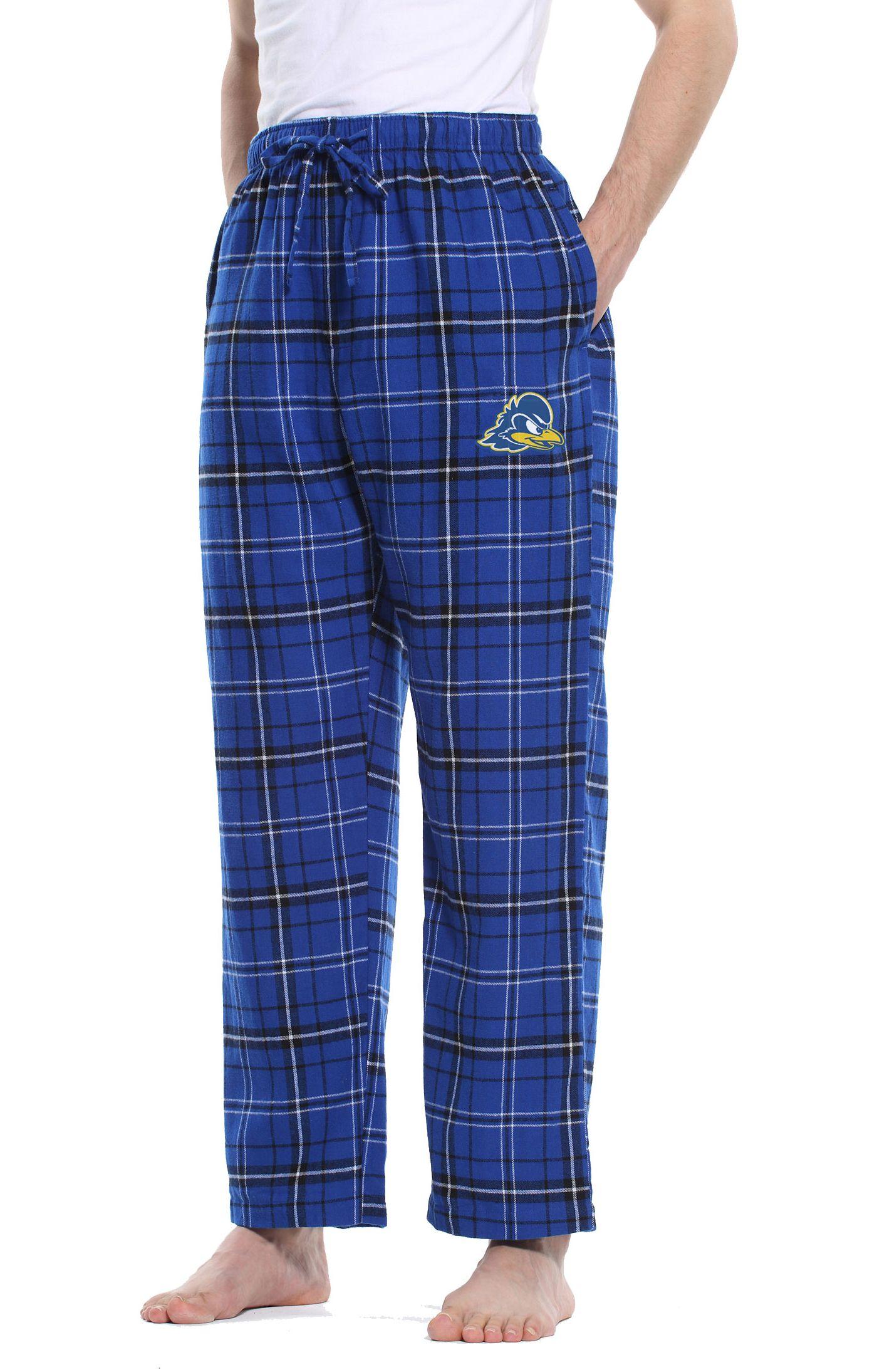 Concepts Sport Men's Delaware Fightin' Blue Hens Blue/Black Ultimate Sleep Pants