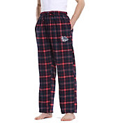 Concepts Sport Men's Gonzaga Bulldogs Blue/Red Ultimate Sleep Pants
