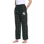 Concepts Sport Men's Michigan State Spartans Green/Black Ultimate Sleep Pants