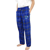 Concepts Sport Men's Memphis Tigers Blue/Black Ultimate Sleep Pants
