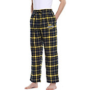 Concepts Sport Men's Marquette Golden Eagles Blue/Gold Ultimate Sleep Pants
