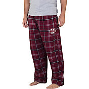 Concepts Sport Men's UMass Minutemen Maroon/Black Ultimate Sleep Pants
