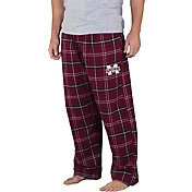 Concepts Sport Men's Mississippi State Bulldogs Maroon/Black Ultimate Sleep Pants