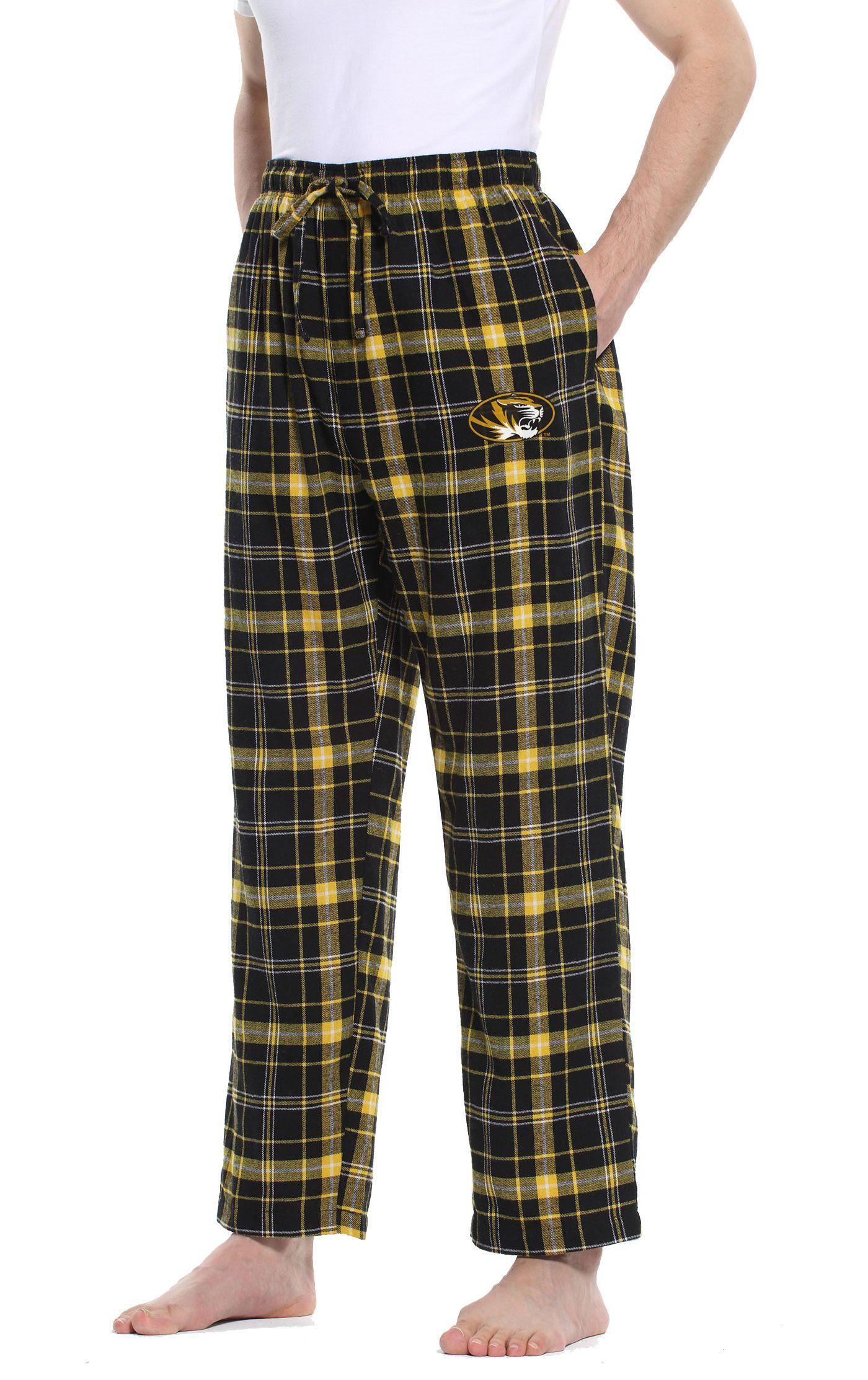 Concepts Sport Men's Missouri Tigers Black/Gold Ultimate Sleep Pants