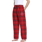 Concepts Sport Men's NC State Wolfpack Red/Black Ultimate Sleep Pants