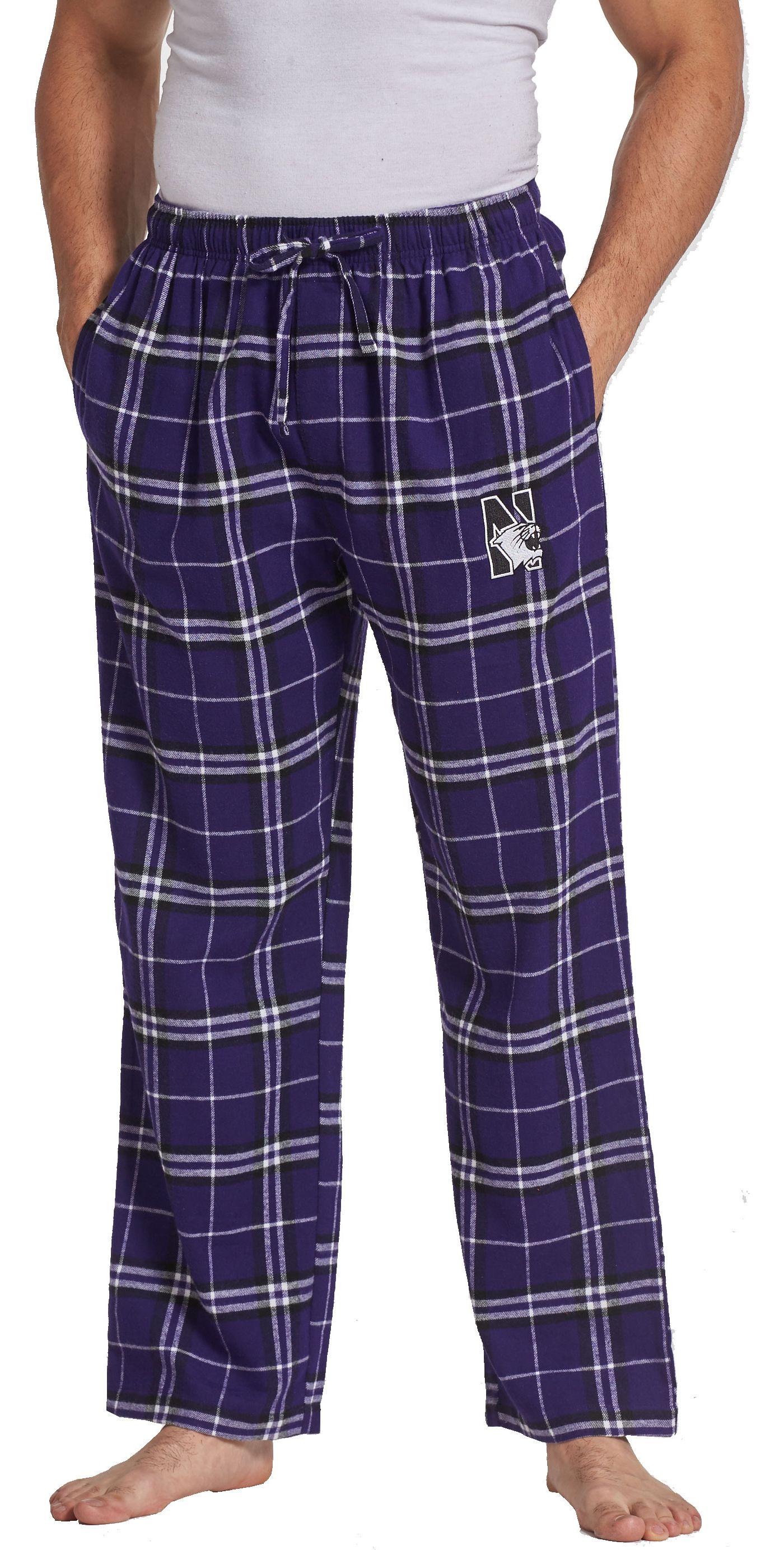 Concepts Sport Men's Northwestern Wildcats Purple/Black Ultimate Sleep Pants