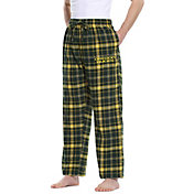 Concepts Sport Men's Oregon Ducks Green/Yellow Ultimate Sleep Pants