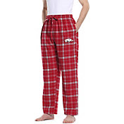 Concepts Sport Men's Arkansas Razorbacks Cardinal/Grey Ultimate Sleep Pants