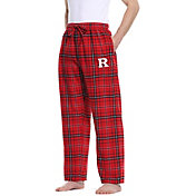 Concepts Sport Men's Rutgers Scarlet Knights Scarlet/Black Ultimate Sleep Pants