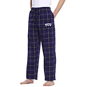 Concepts Sport Men's TCU Horned Frogs Purple/Black Ultimate Sleep Pants