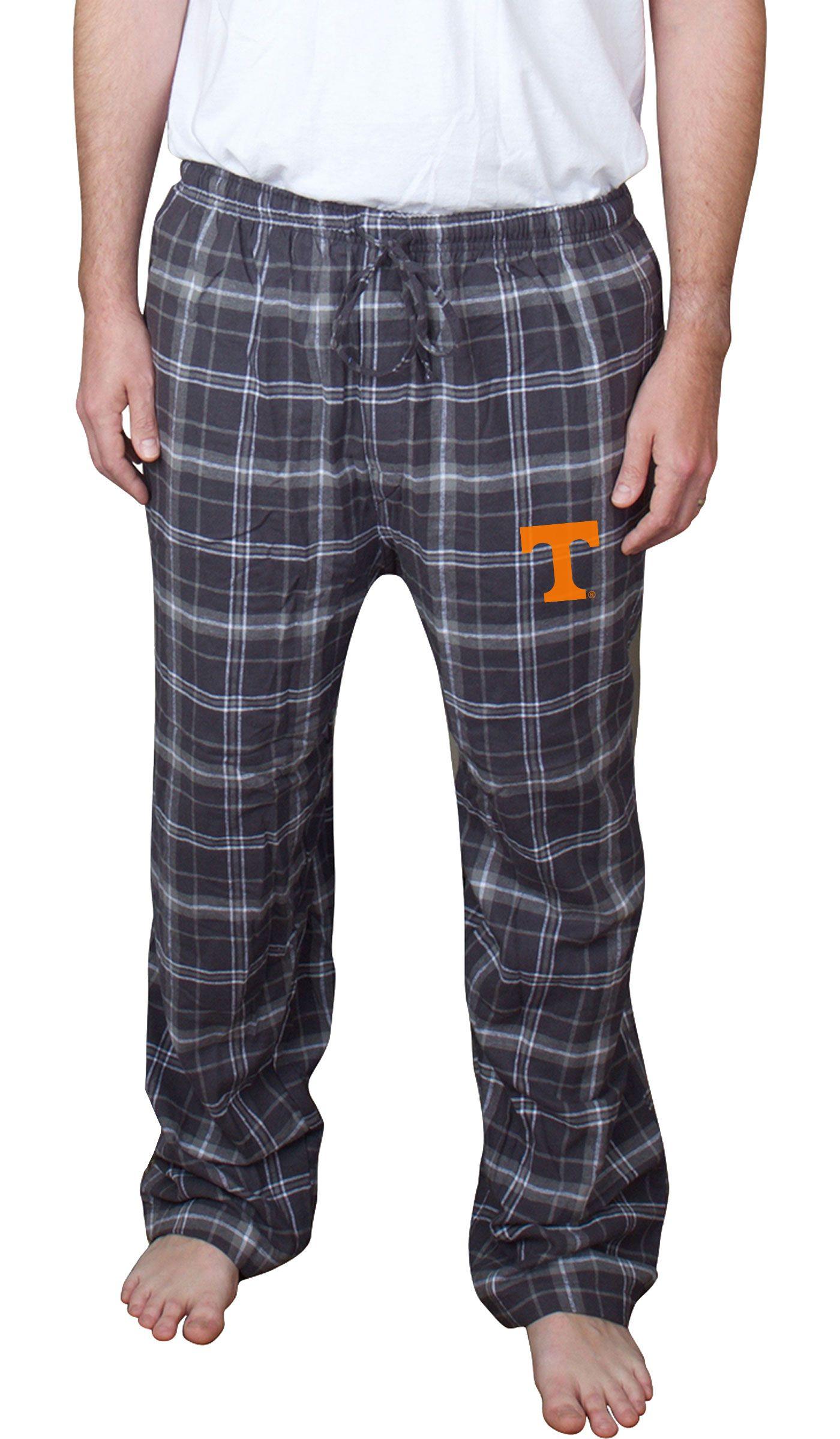 Concepts Sport Men's Tennessee Volunteers Charcoal /Black Ultimate Sleep Pants