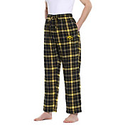 Concepts Sport Men's Iowa Hawkeyes Black/Gold Ultimate Sleep Pants