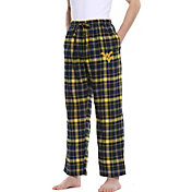 Concepts Sport Men's West Virginia Mountaineers Blue/Gold Ultimate Sleep Pants