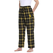 Concepts Sport Men's Wyoming Cowboys Black/Gold Ultimate Sleep Pants