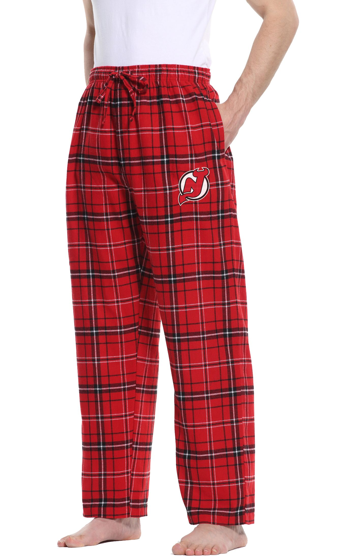 Concepts Sport Men's New Jersey Devils Ultimate Flannel Pants