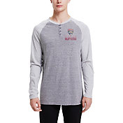Concepts Sport Men's Florida Panthers Homestretch Heather Grey Long Sleeve Shirt