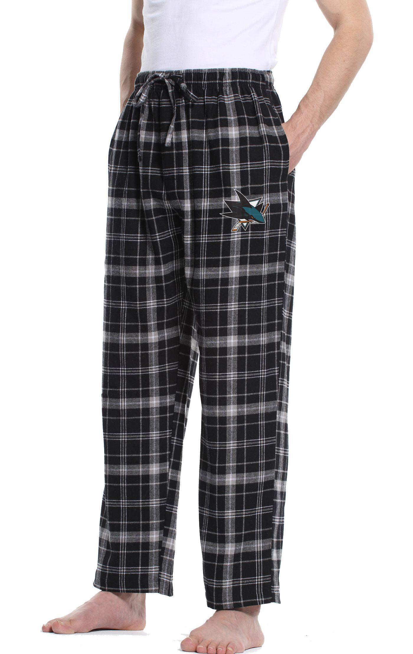 Concepts Sport Men's San Jose Sharks Ultimate Flannel Pants