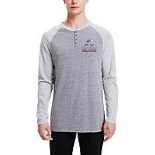 Concepts Sport Men's Colorado Avalanche Homestretch Heather Grey Long Sleeve Shirt