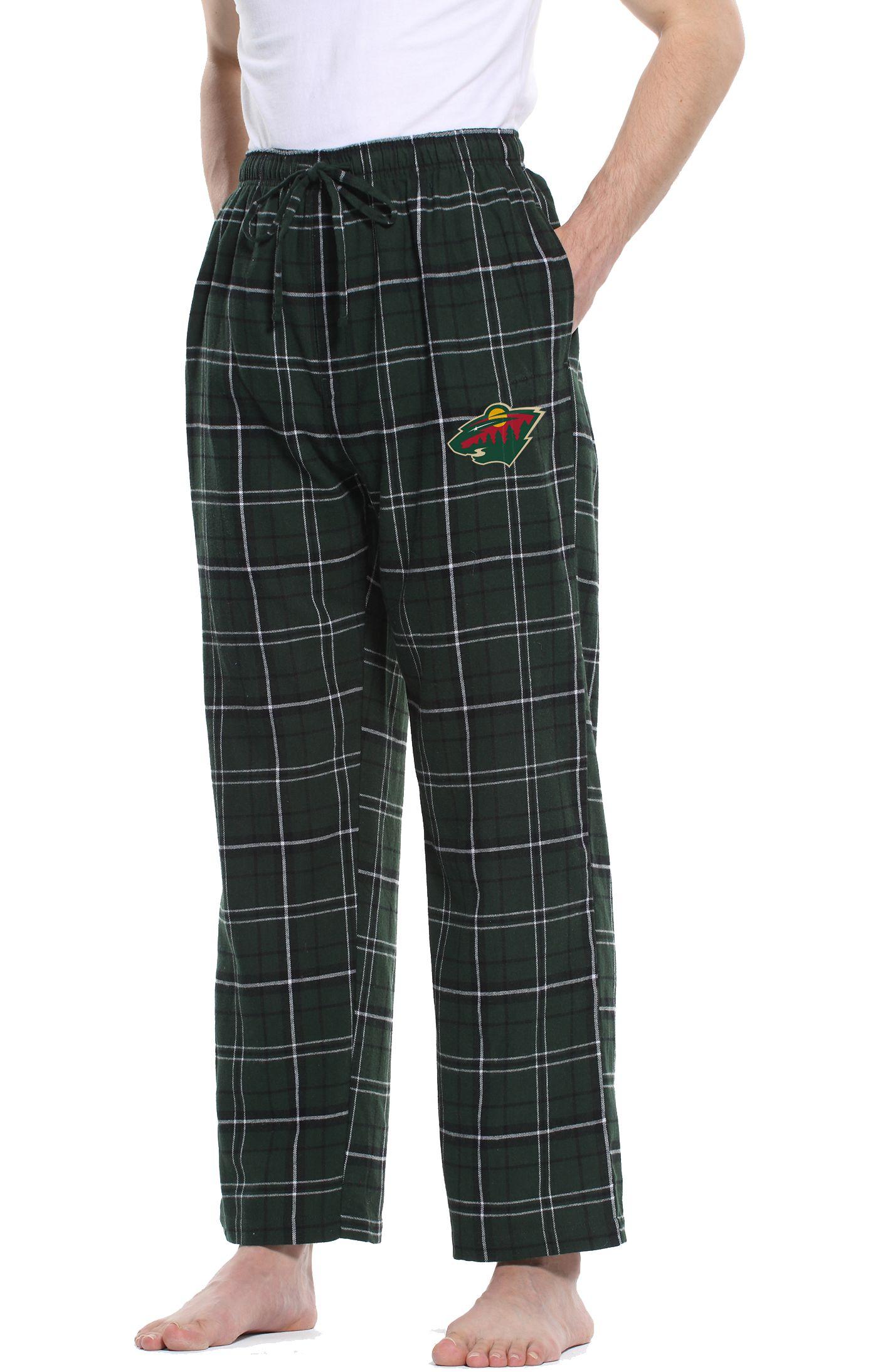 Concepts Sport Men's Minnesota Wild Ultimate Flannel Pants