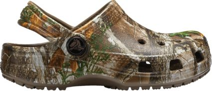 Crocs Kids' Classic Realtree Edge Clogs