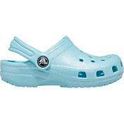 Crocs Kids' Classic Glitter Clogs