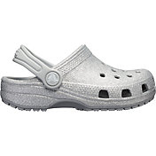 Crocs Kids' Classic Glitter Clogs