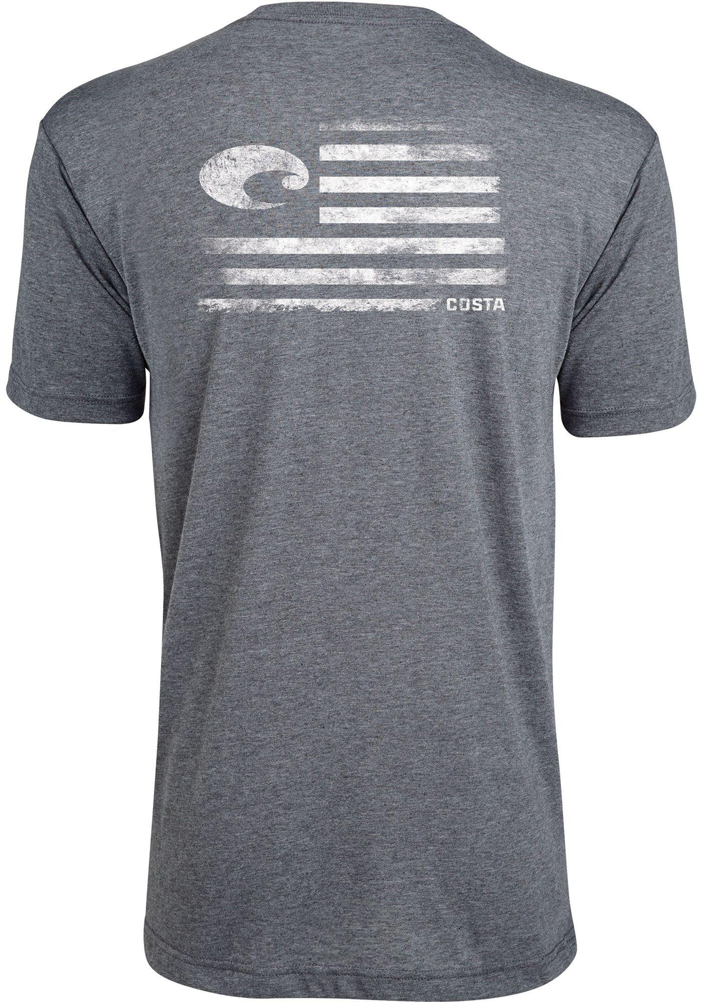 Costa Del Mar Men's Pride Short Sleeve T-Shirt