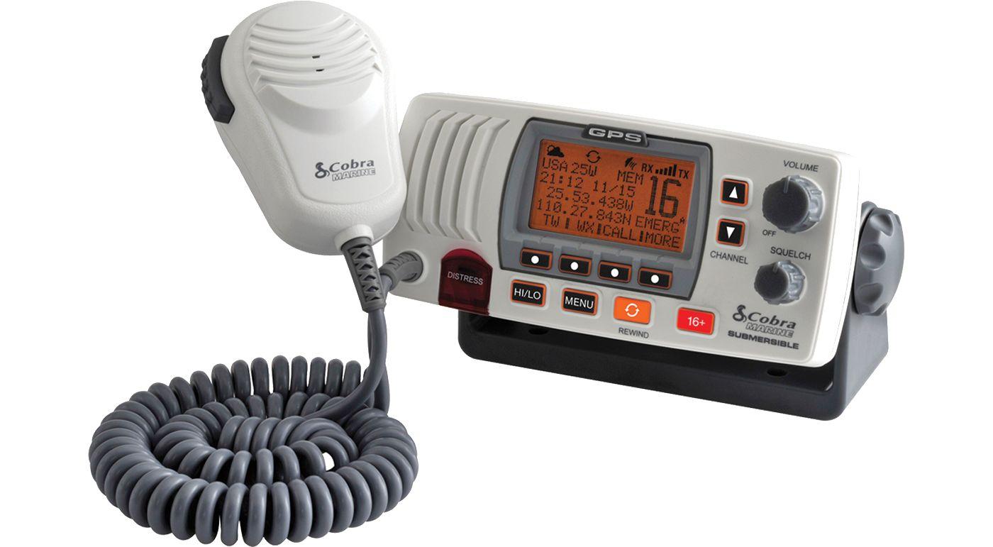 Cobra MR F77 Fixed Mount VHF Marine Radio