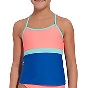 DSG Girls' T-Back Workout Tankini