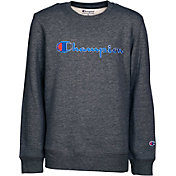 Champion Boys' Heritage Fleece Crewneck Pullover