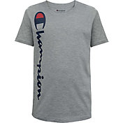 Champion Boys' Vertical Script T-Shirt
