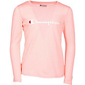 Champion Girls' Heritage Long Sleeve Tee