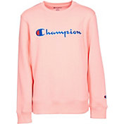 Champion Girls' Heritage Crewneck Pullover