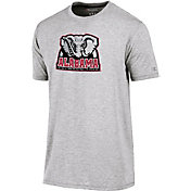 Champion Men's Alabama Crimson Tide Grey Crew Performance T-Shirt