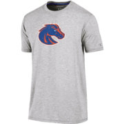Champion Men's Boise State Broncos Grey Crew Performance T-Shirt