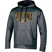 Champion Men's Cal Golden Bears Grey Double Possession Pullover Hoodie
